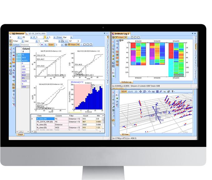 Drillhole data analysis reimagined